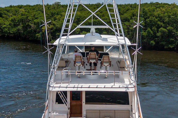 2015 Hatteras 70'  WING MAN | Picture 6 of 48