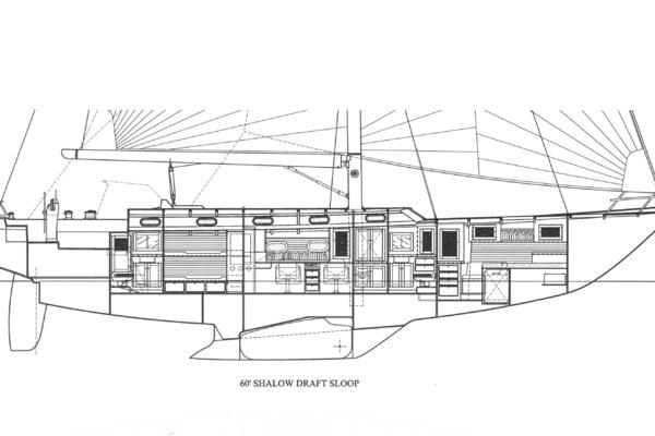 1999 Lyman-Morse 60' Hood Custom 60 WINDWALKER II | Picture 6 of 38