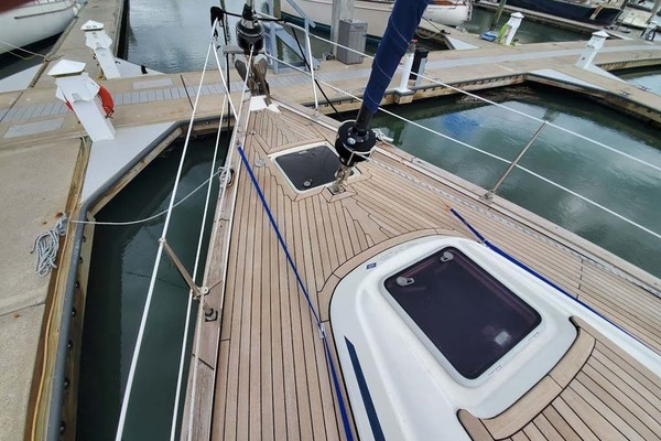 Starboard Aft Berth