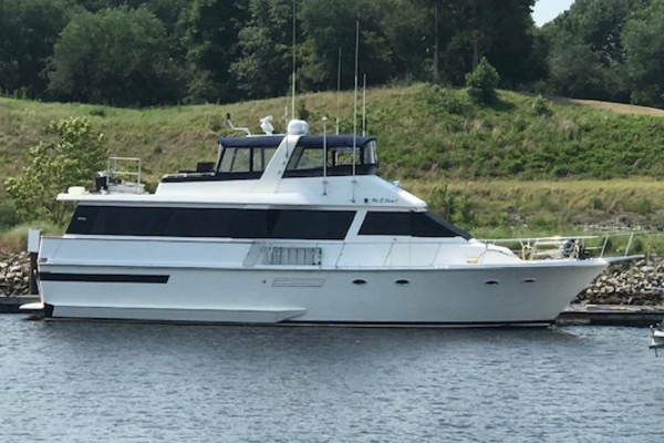 63' Viking 63 Widebody Motoryacht 1989 |