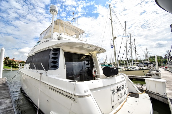 1999 Carver 53' 53 Voyager Soggy Dollar | Picture 8 of 41
