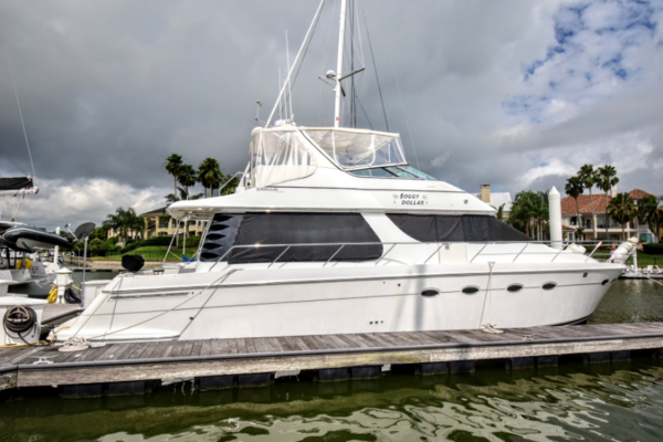 1999 Carver 53' 53 Voyager Soggy Dollar | Picture 1 of 41