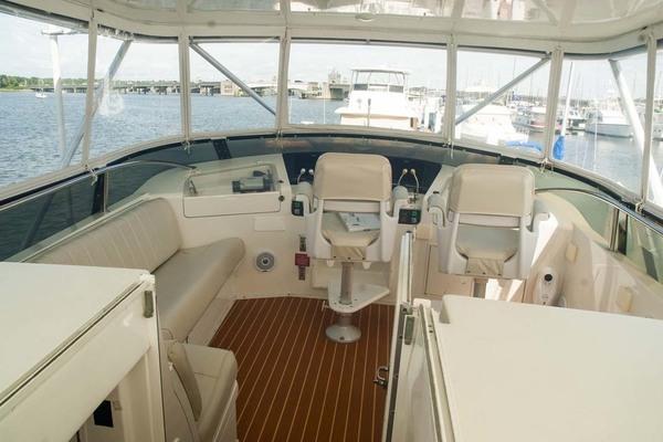1994 Hatteras 52' 52 Cockpit Motor Yacht Believe It | Picture 6 of 73