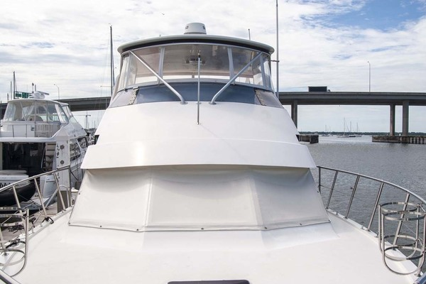 1994 Hatteras 52' 52 Cockpit Motor Yacht Believe It | Picture 5 of 73
