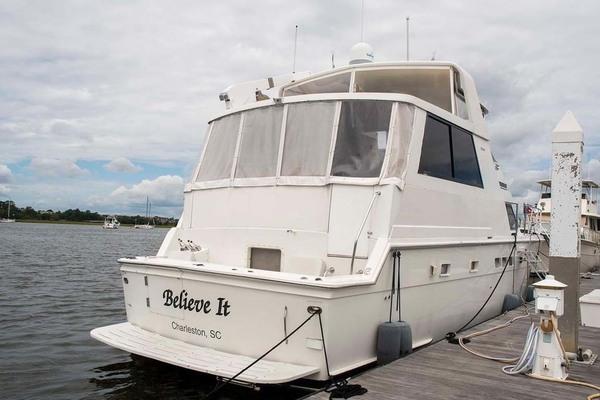 1994 Hatteras 52' 52 Cockpit Motor Yacht Believe It | Picture 2 of 73