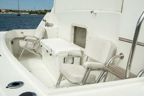 1994 Hatteras 52' 52 Cockpit Motor Yacht Believe It | Picture 8 of 73