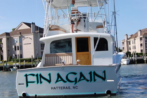 1989 Custom Carolina 48' 48 Sleep Creek Boatworks/Gary Davis Fin Again | Picture 4 of 62