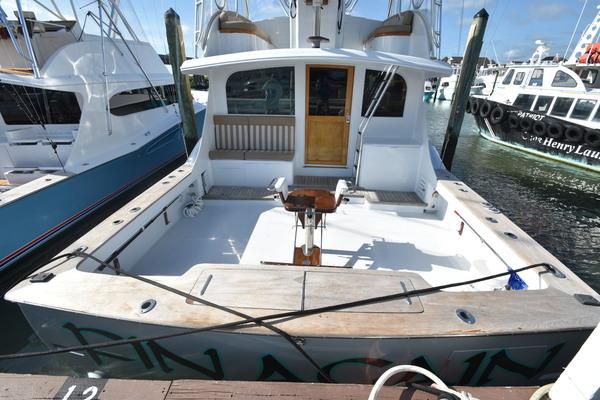 1989 Custom Carolina 48' 48 Sleep Creek Boatworks/Gary Davis Fin Again | Picture 6 of 62