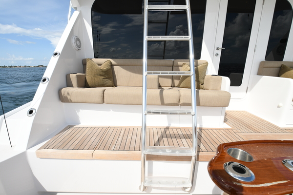 2003 Hatteras 65' 65 Convertible Galati Yacht Sales Trade   Picture 2 of 53