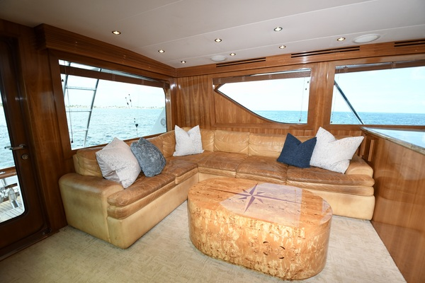 2003 Hatteras 65' 65 Convertible Galati Yacht Sales Trade   Picture 3 of 53