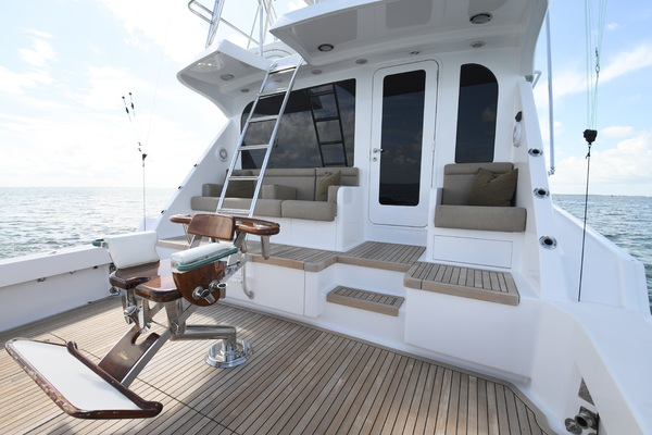 2003 Hatteras 65' 65 Convertible Galati Yacht Sales Trade   Picture 1 of 53