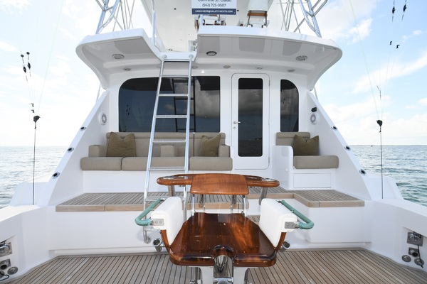 2003 Hatteras 65' 65 Convertible Galati Yacht Sales Trade   Picture 7 of 53