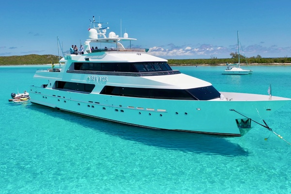 1986 Heesen 125' Tri-Deck Motor Yacht  SEA AXIS | Picture 1 of 50