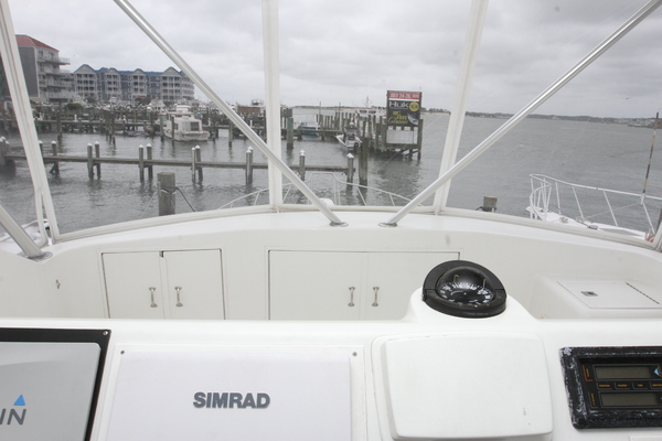1993 Hatteras 50' 50 Convertible M.R. Ducks | Picture 1 of 100