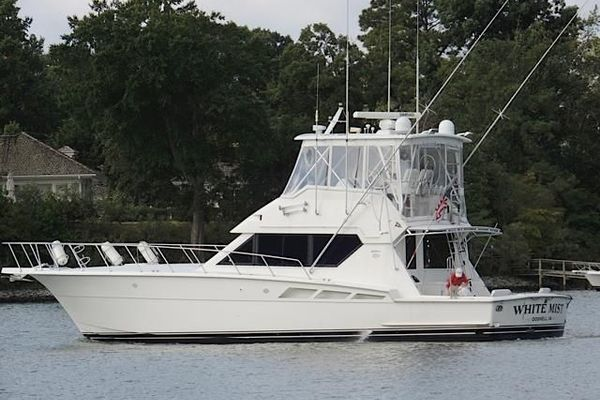 1993 Hatteras 50' 50 Convertible M.R. Ducks | Picture 2 of 100