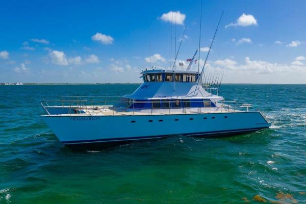 62' Custom Cold Molded Cat Craft  1999 | Megalodon