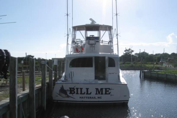2005Custom Carolina 54 ft 54 Alex Willis Sportfisherman   Bill Me