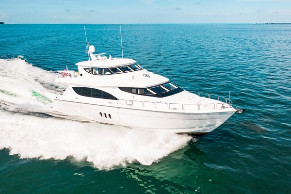 2008 Hatteras 80' 80 Motor Yacht Galati Yacht Sales Trade | Picture 2 of 67