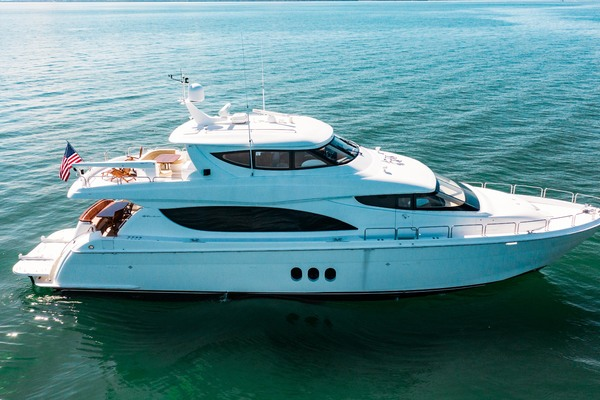 2008 Hatteras 80' 80 Motor Yacht Galati Yacht Sales Trade | Picture 8 of 67