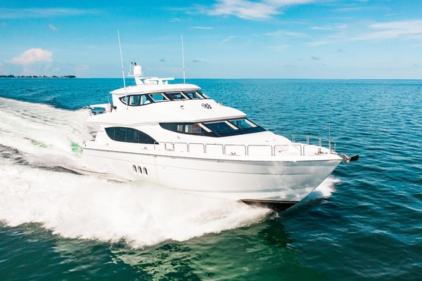 2008 Hatteras 80' 80 Motor Yacht Galati Yacht Sales Trade | Picture 5 of 67