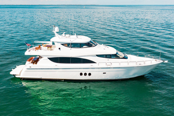 2008 Hatteras 80' 80 Motor Yacht Galati Yacht Sales Trade | Picture 1 of 67