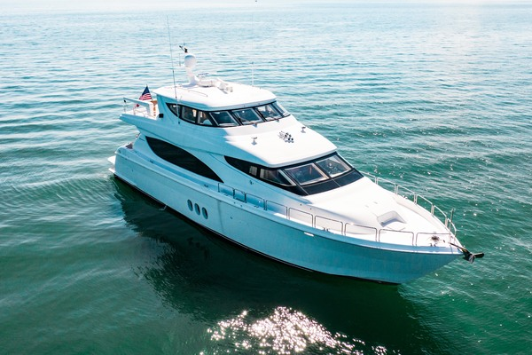 2008 Hatteras 80' 80 Motor Yacht Galati Yacht Sales Trade | Picture 7 of 67
