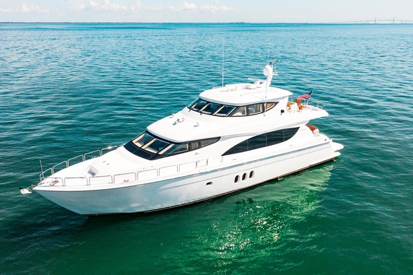 2008 Hatteras 80' 80 Motor Yacht Galati Yacht Sales Trade | Picture 6 of 67
