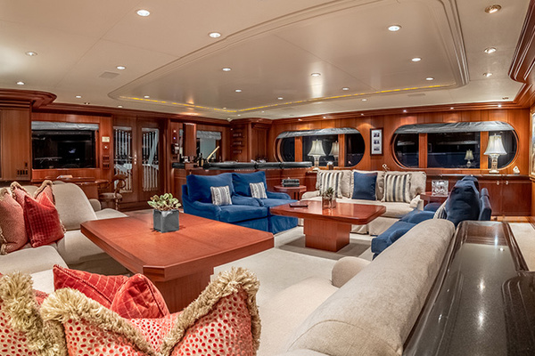 1992 Feadship 140'  NEVER ENOUGH | Picture 3 of 50