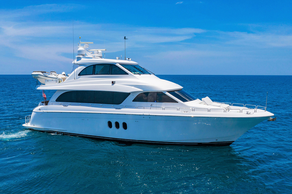 72' Hatteras Enclosed Bridge, 4 Stateroom, Cats 2009 | Panacea