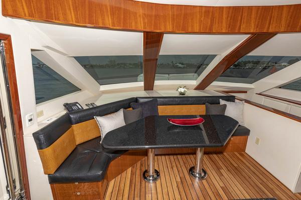 2009 Hatteras 72' Enclosed Bridge, 4 stateroom, CATS PANACEA   Picture 1 of 88