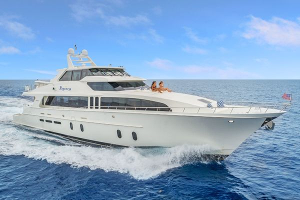 100-ft-Cheoy Lee-2007-Cockpit Motor Yacht -Happiness  British Columbia Canada  yacht for sale