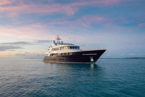 146-ft-Trinity Yachts-2004--Bacchus West Palm Beach Florida United States  yacht for sale