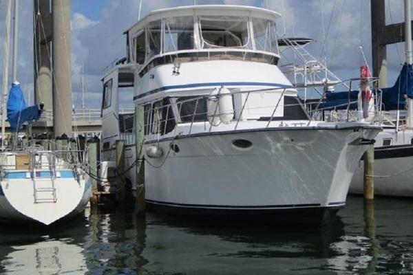 45-ft-Aquarius-1990-Trawler-Linda Lee Fort Myers Florida United States  yacht for sale