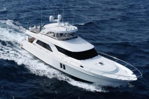 72' Ocean Alexander Motor Yacht Flybridge 2016 | Journey