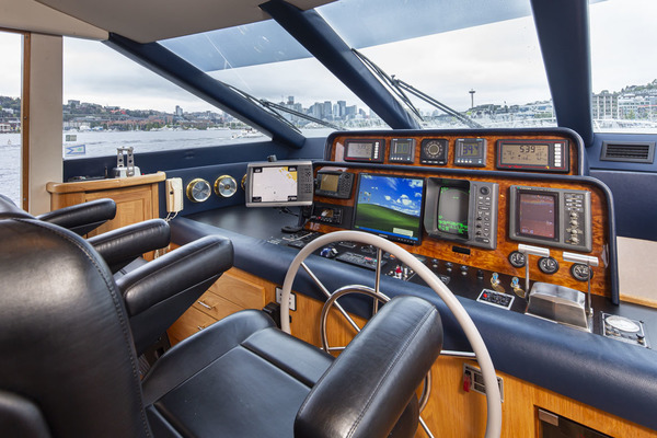 1997 Pacific Mariner 65' Pilothouse Obsession | Picture 6 of 42