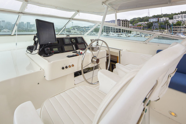 1997 Pacific Mariner 65' Pilothouse Obsession | Picture 7 of 42