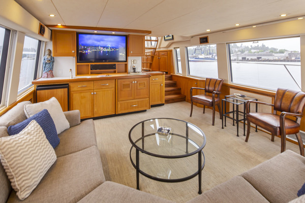1997 Pacific Mariner 65' Pilothouse Obsession | Picture 4 of 42