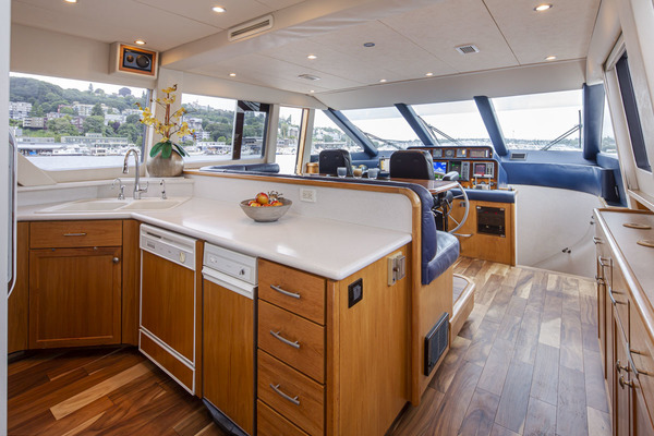 1997 Pacific Mariner 65' Pilothouse Obsession | Picture 8 of 42