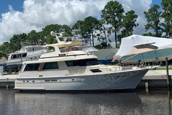 Hatteras Euro Transom Motor Yacht