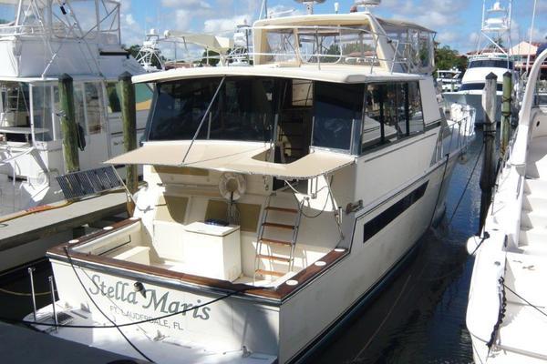 1989 Californian 55' Cockpit Motor Yacht Stella Maris   Picture 2 of 54