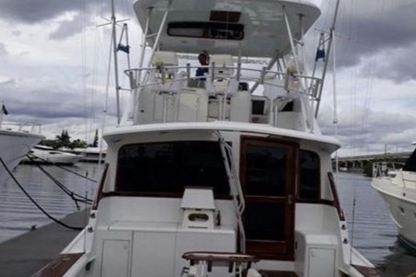 1988 Ocean Yachts 55' 55 Super Sport Por Que No | Picture 3 of 9
