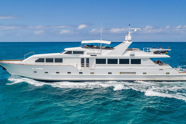 110-ft-Broward-1995-RPH-Alexandra Jane Fort Lauderdale Florida United States  yacht for sale