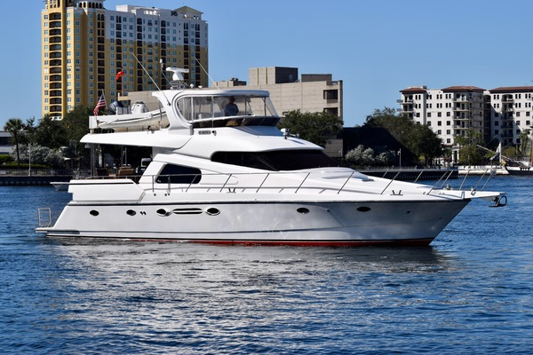 60' Johnson Pilothouse Motoryacht 2003 |