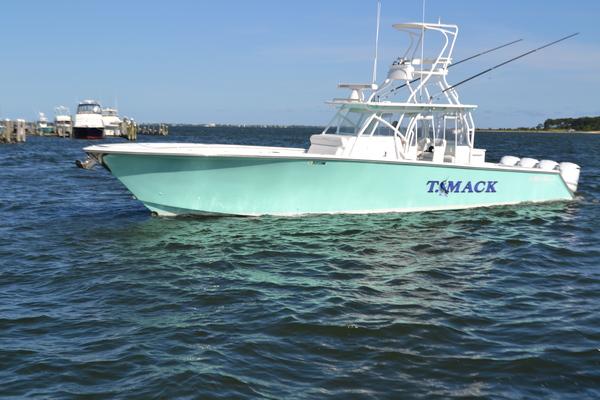 45' Seahunter Center Console 2018 | T Mack