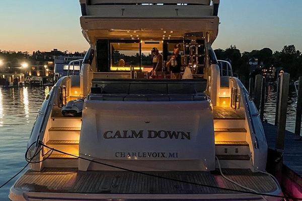 2017 Princess 65' S65 Calm Down | Picture 3 of 53