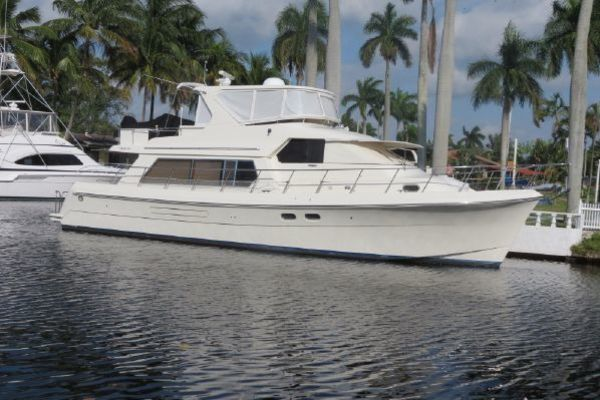 57' Hampton 558 Pilothouse 2004 | Mystic Unicorn