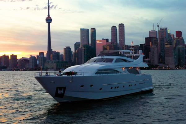 2003 Ferretti Yachts 94 ft Custom Line - Lady A