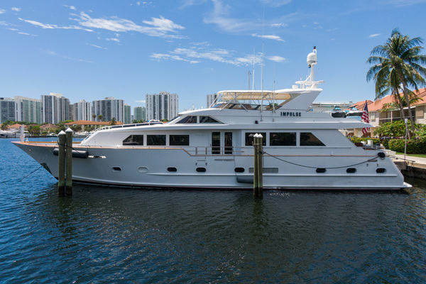 87-ft-Broward-1996-RPH-Impulse Miami Florida United States  yacht for sale