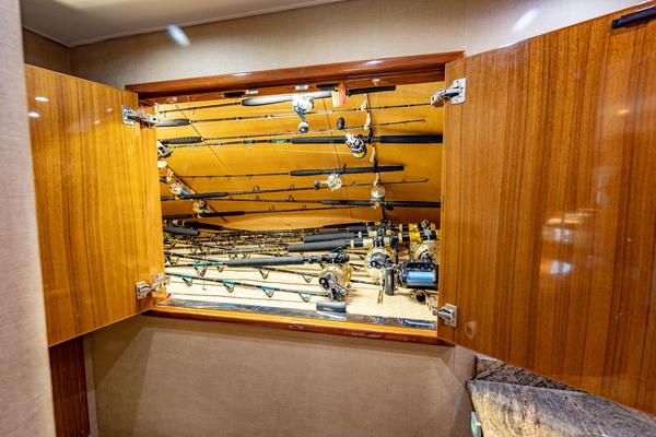 2006 Viking 74' 74 Enclosed Bridge Bimini Babe   Picture 4 of 85