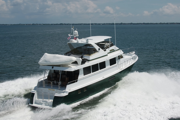 1999 Hatteras 74' 74 Sport Deck Motor  Yacht TRIX SEA | Picture 5 of 56